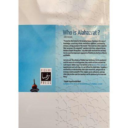 Who is Alahazrat?